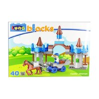 LUNA BLOCKS Castelul Cavalerilor,  38X28X8,5 cm, 42 piese