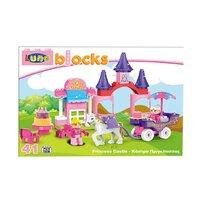 LUNA BLOCKS Castelul Printeselor,  38X28X8,5 cm, 42 piese