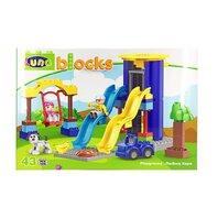 LUNA BLOCKS Parc de joaca  48X33X8,5cm, 43 piese