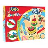 LUNA - Plastilina cakes - 3 culori cu forme 60gr
