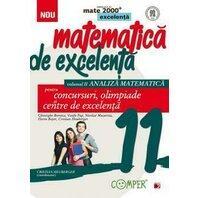 MATE EXCELENTA. CLS. XI. ANALIZA MATEMATICA. ED. 2