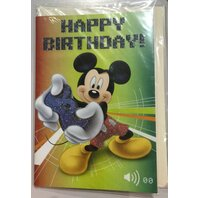 Mickey Mouse Felicitare HB Game