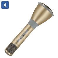 Microfon pentru karaoke, se conecteaza prin bluetooth