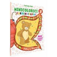Minicolorici 3-4 ani - Carte de colorat