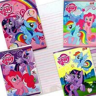 My Little Pony Caiet A5