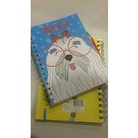 Notebook A5 cu spirala Pets