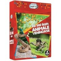 Pachet 4 DVD-uri Afla totul despre animale veninoase