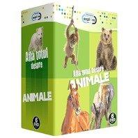 Pachet 5 DVD-uri  Afla totul despre animale