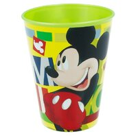 Pahar plastic 260 ml  MICKEY WATERCOLORS