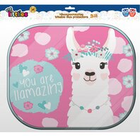 Parasolar copii 2PCS SET LLAMA WITH COLORING POSTER
