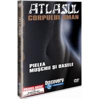 DVD Atlasul Corpului Uman - Pielea. Muschii si Oasele