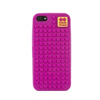 PIXIE CREW iPhone 5 Case FUCHSIA WITH GLITTERS