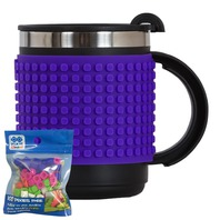 Cana thermo Pixie mov, 480 ml