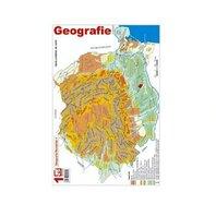 Pliant Geografia Romaniei 1-HARTA UNITATILOR DE RELI