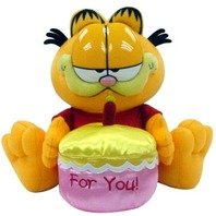 Jucarie de Plus Garfield Happy Birthday, 30.5 cm