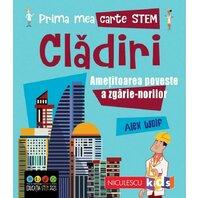 Prima mea carte STEM: CLADIRI. Ametitoarea poveste a zgarie-norilor