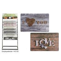 Protectie pentru masa,Love & I love you 2 design-uri