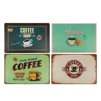Protectie pentru masa Coffee, 4 design-uri