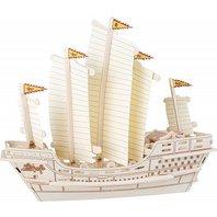 Puzzle 3D (lemn): Zheng He