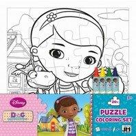 Puzzle de colorat Doctorita Plusica