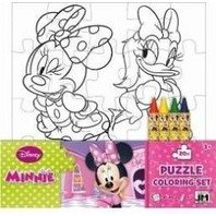 Puzzle de colorat Minnie
