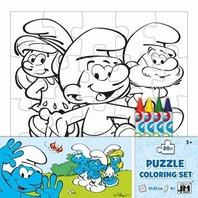 Puzzle de colorat Set Princess