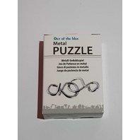 Puzzle din metal si lemn , mix, 6 Model-1