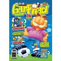 Revista Garfield Nr. 55-56 + Breloc Garfield la Campionatul Mondial