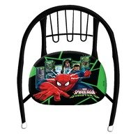 Scaun metalic negru Spiderman