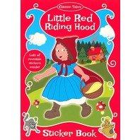 Scufita Rosie- carte de colorat cu stickere