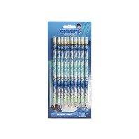 Set 10 creioane colorate Strumfii
