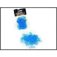 Set 250 inele de silicon aqua + unelte
