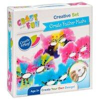 Set creativ - Mascute cu pene