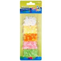 Set creativ - Paiete Pastel Floricele - 5 culori
