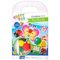 Set creativ - Set Pom Pom Animalute