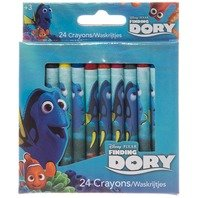 Set creioane cerate Finding Dory, 24 culori