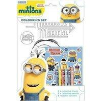 Set de colorat Minions