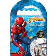 Set de colorat Spiderman1
