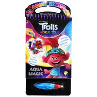 Set de colorat TROLLS 2 AQUA MAGIC