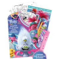 SET DE COLORAT Trolls 2 BUMPER PLAY PLACK