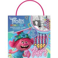 SET DE COLORAT Trolls 2 POPPY