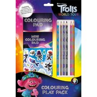 SET DE COLORAT TROLLS PLAY PACK