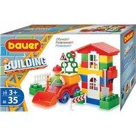 Set de construit Bauer Building, 35 piese