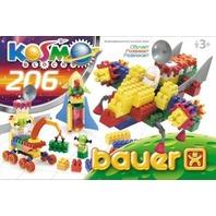 Set de construit Bauer Cosmos, 206 piese