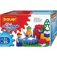 Set de construit Bauer Mechanic, 35 piese