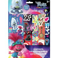 SET DE STICKERE Trolls 2