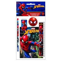 Set Spiderman 5 rechizite rigla