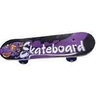 Skateboard Mov cu negru, 43.5 cm