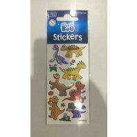 Sticker dinozauri colorati