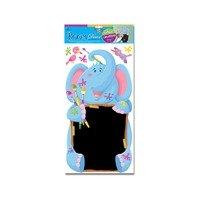 Sticker pentru perete Elefant cu tabla de scris